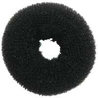 Hair Bun - 18cm Black