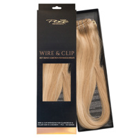 Poze Standard Wire & Clip Extensions - 130g Glam Blonde 10B/11N - 50cm