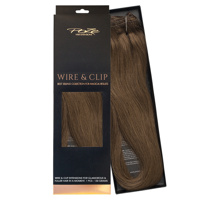Poze Standard Wire & Clip Extensions - 130g Lovely Brown 6B - 50cm